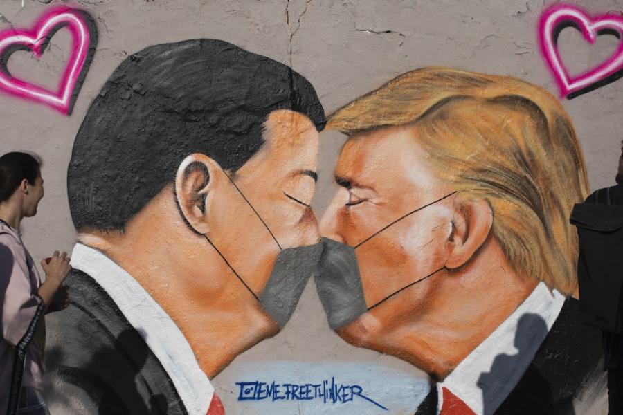 Graffiti covid