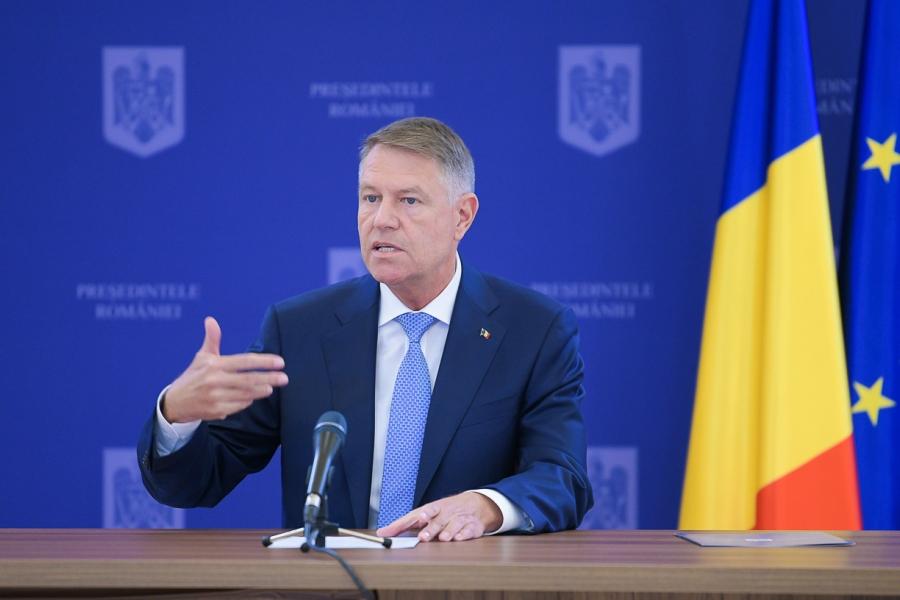 klaus iohannis - conferinta de presa - presidency.ro