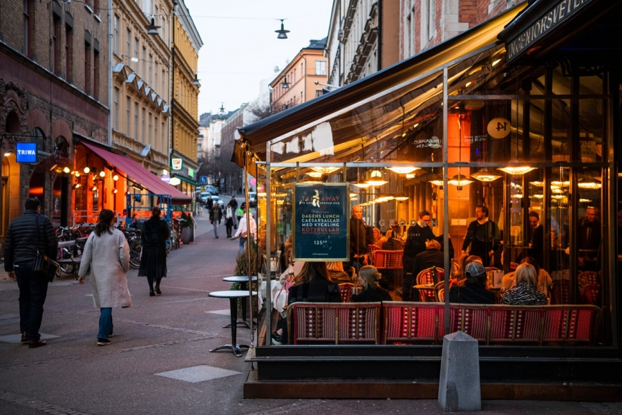 Suedia - covid - (Foto: Jonathan Nackstrand/ AFP/ Profimedia)