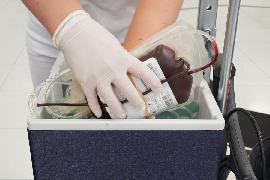 Transfuzie de sânge