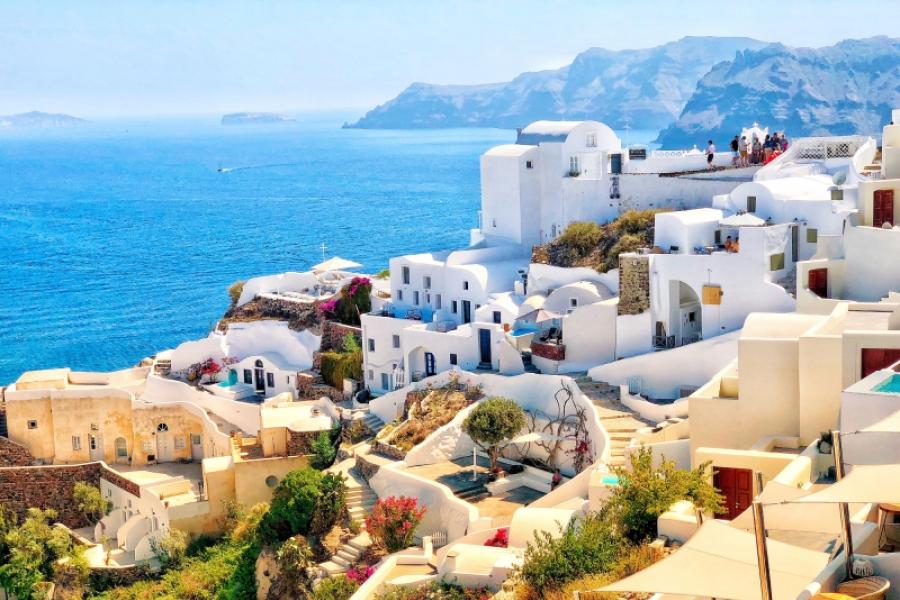 Santorini - getty