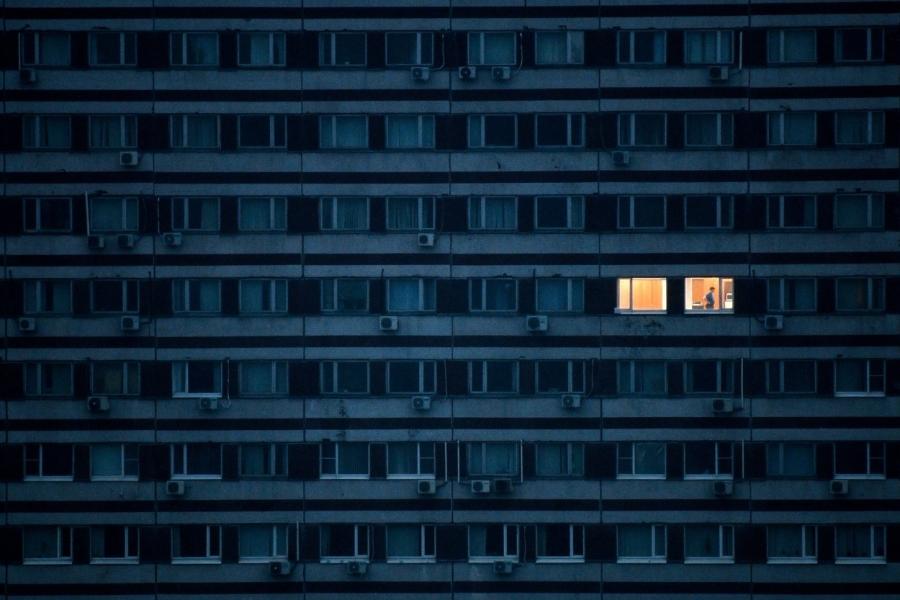 bloc locuinte - (Foto; Kirill Kudryavtsev/ AFP / Profimedia)