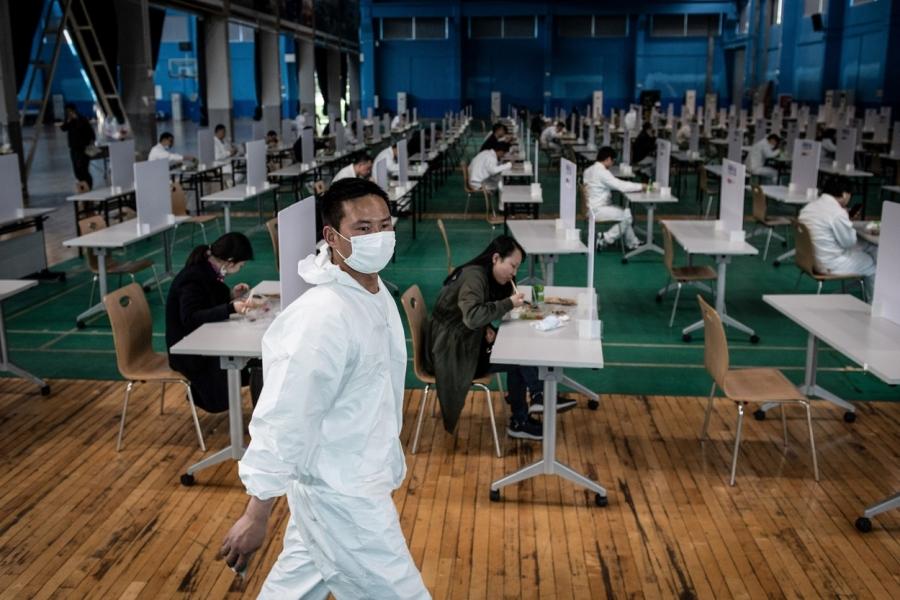 china - muncitori - Foto STR / AFP / Profimedia