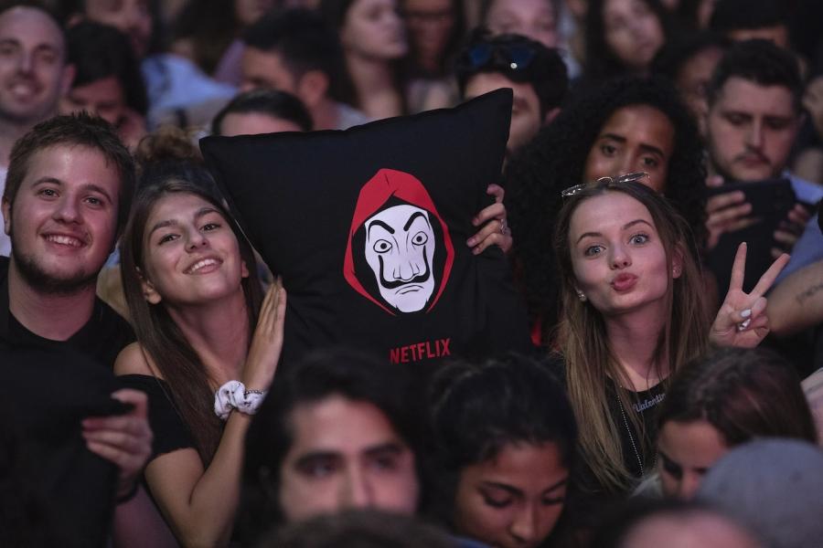 Casa de papel, Netflix