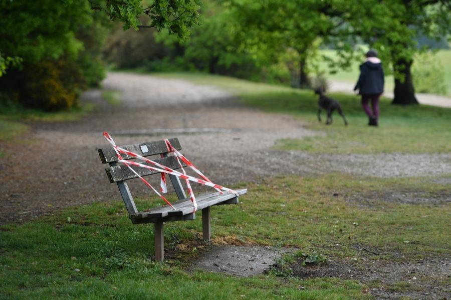 covid - parc - Foto: Ashley Western/ PA Images/ Profimedia