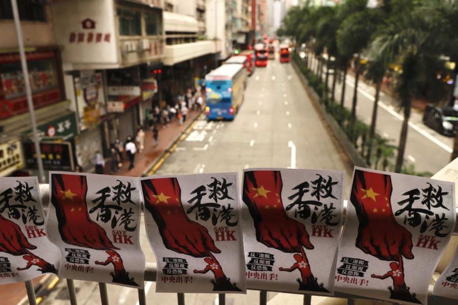 hong Kong - protest - Foto: Liau Chung-ren / Zuma Press / Profimedia)