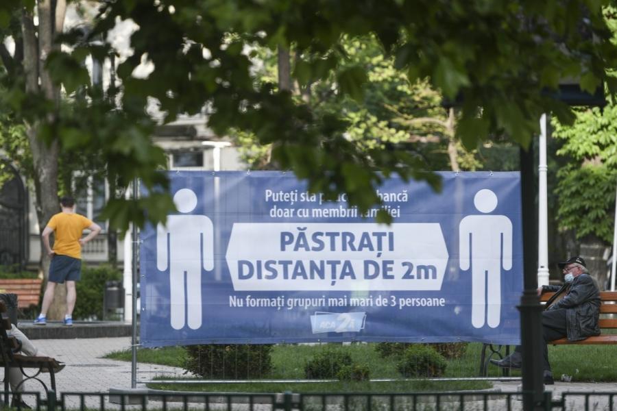 pandemie - parc - Bucuresti - Foto: Grosescu Alberto Mihai / Shutterstock Editorial / Profimedia)