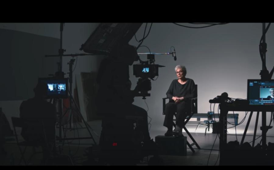 Oana Pellea la filmare