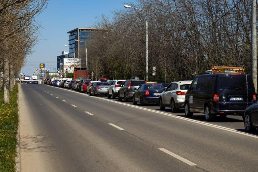 trafic - Bucuresti - Voluntari - Foto: lcv / Alamy / Alamy / Profimedia)
