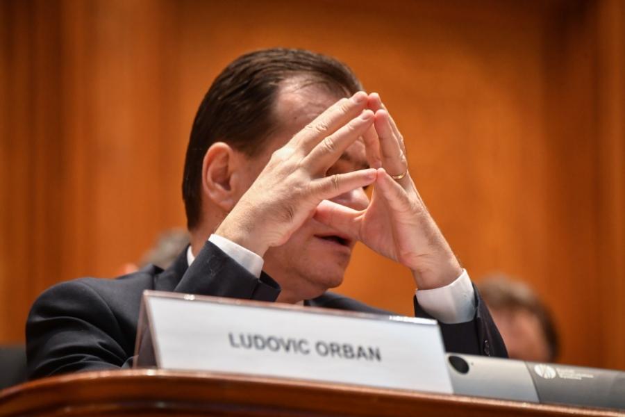 Ludovic Orban - Foto: Daniel Mihăilescu/ AFP / Profimedia)