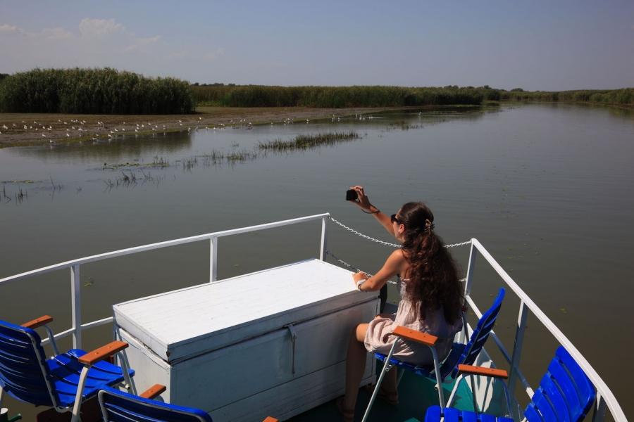 Vaporaș pe Dunăre