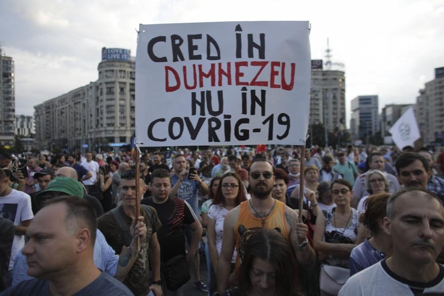 protest covid - Foto: Inquam Photos / Octav Ganea)