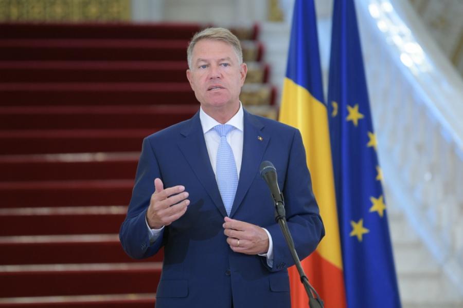 Klaus Iohannis - iulie - presidency.ro