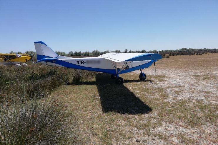 Avion în Deltă