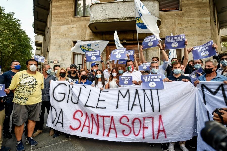 Hagia Sofia - Foto LaPresse / ddp USA / Profimedia)