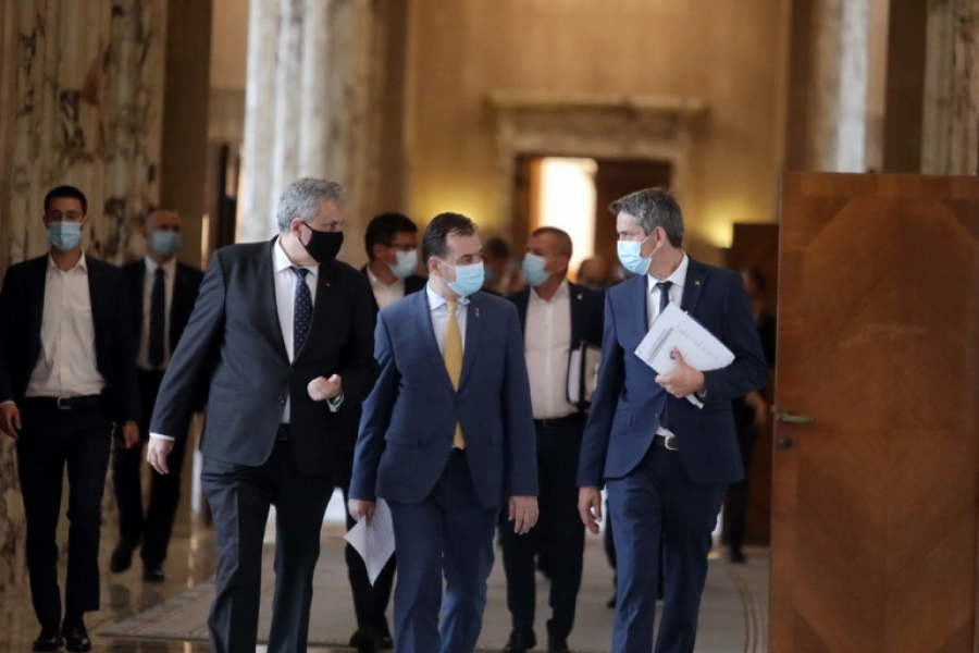 Ludovic Orban si ministrii - gov.ro