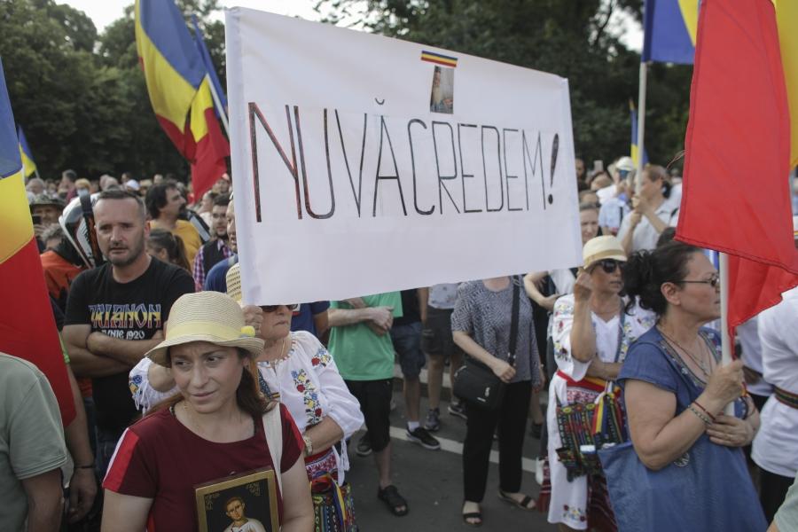 protest iulie 2020 - masca - Foto Inquam Photos / Octav Ganea)