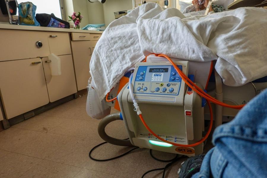 pat de spital covid-