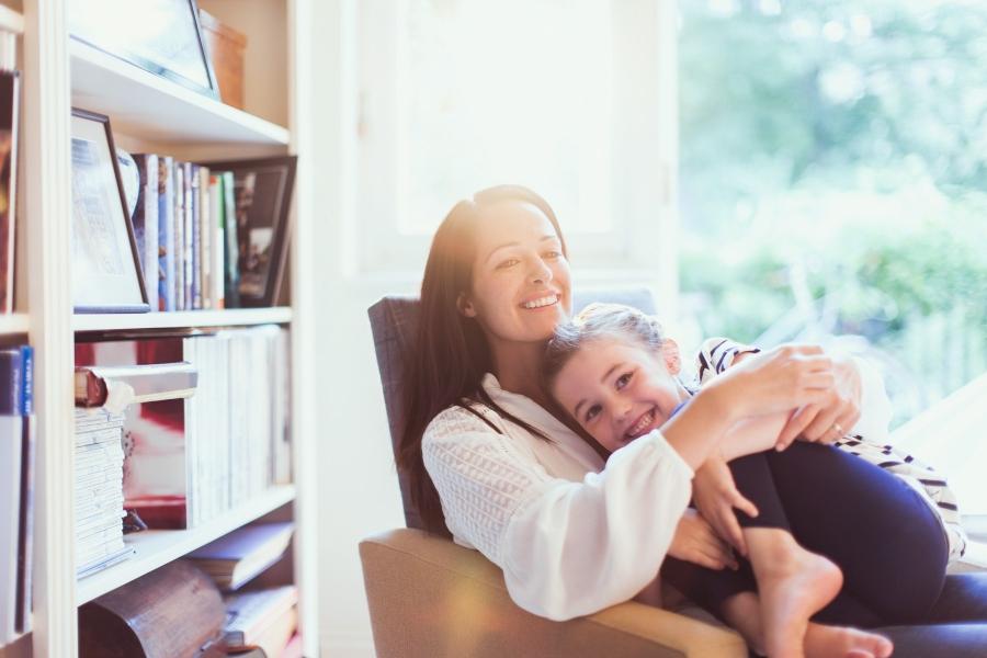 mama si fiica - pozitivism