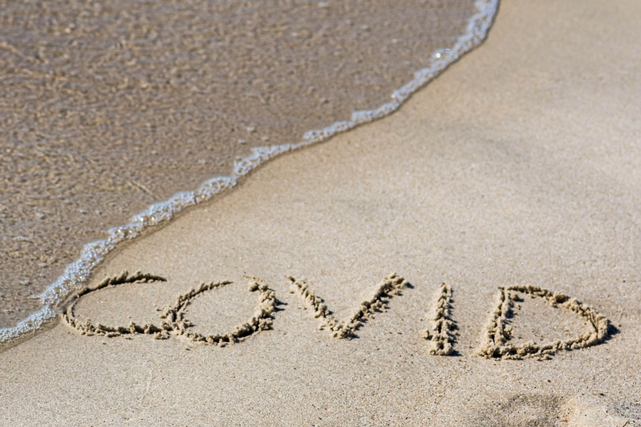 covid - plaja goala