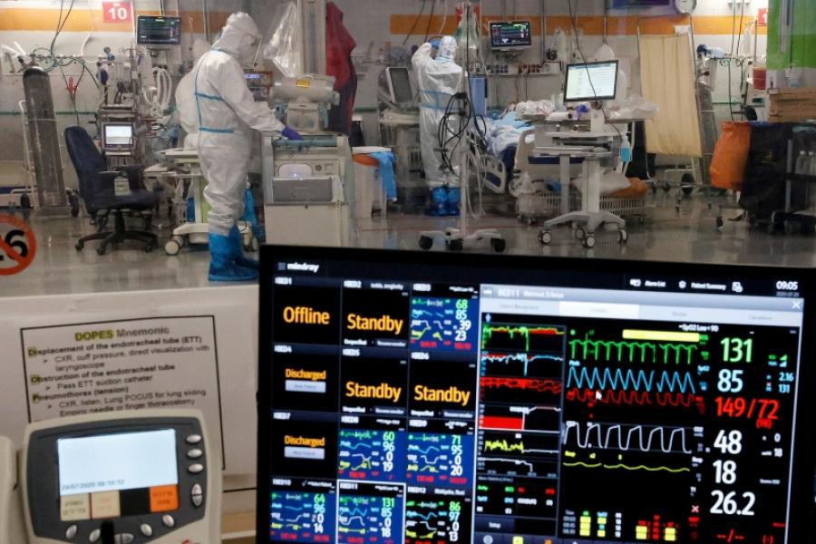 spital - covid - Foto Jack Guez / AFP / Profimedia