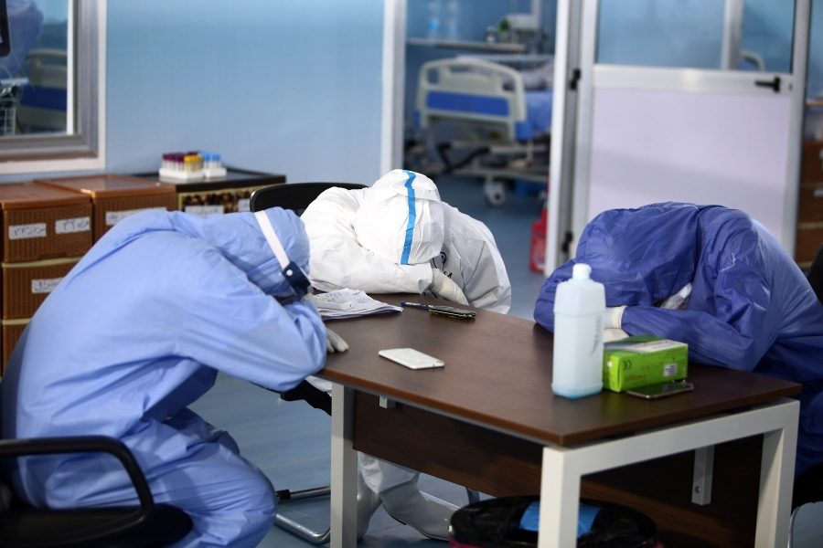 spital - medici - oboseala - Foto Ahmed Gomaa / Xinhua News / Profimedia)