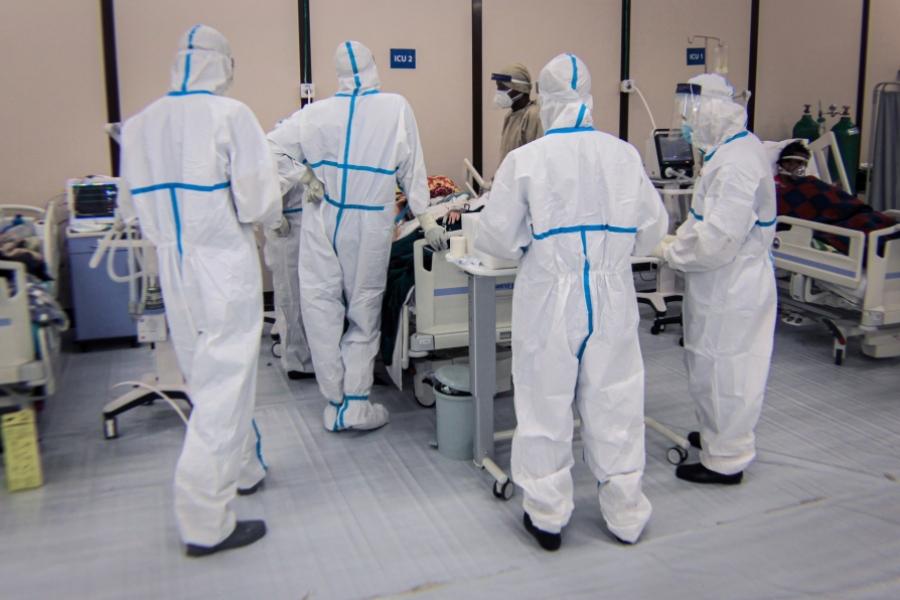 Covid-19 - spital - pat - Amanuel Sileshi / AFP / Profimedia