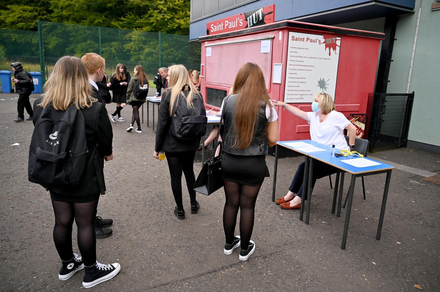Deschiderea școlilor în Scoția