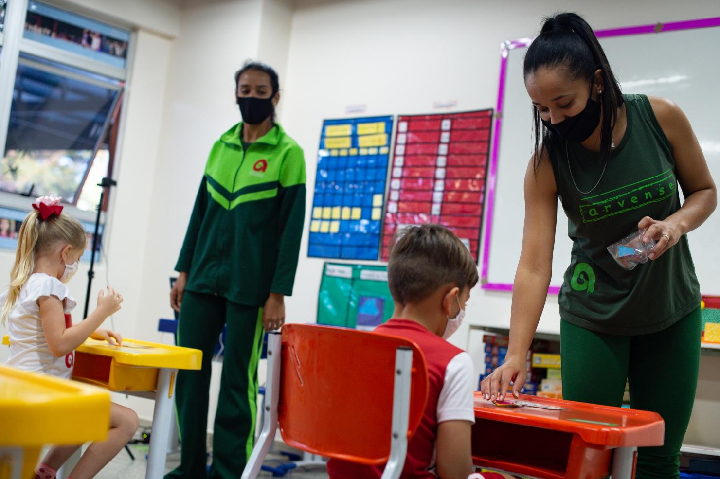 Deschiderea școlilor în Brazilia