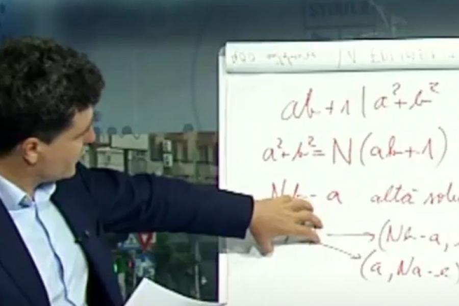 Matematica lui Nicușor Dan