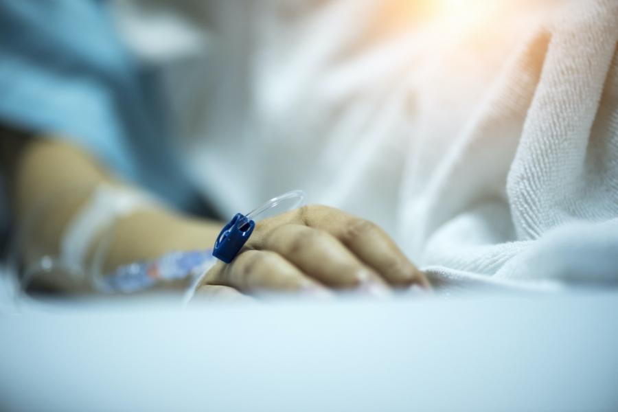 Mână pacientă spital