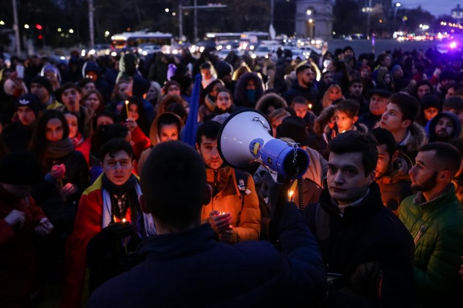 Protest Chișinău