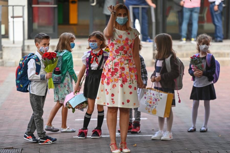 scoala - septembrie 2020 - Foto Daniel Mihailescu / AFP / Profimedia)