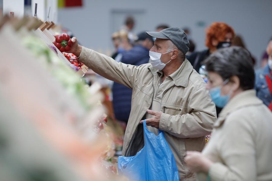 pensionari - piata - Foto Inquam Photos / George Călin