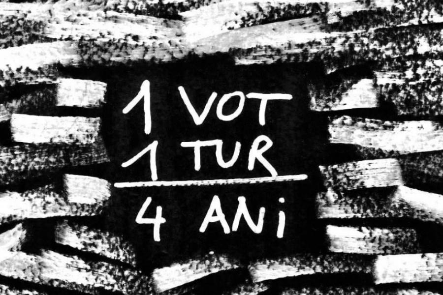 Un vot, un tur, patru ani