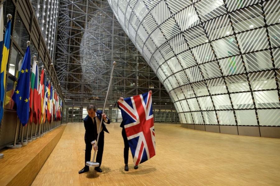 scoaterea steagului UK la CE