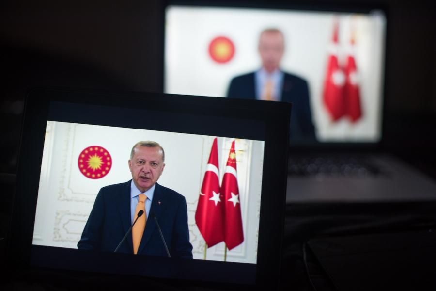 Erdogan la TV
