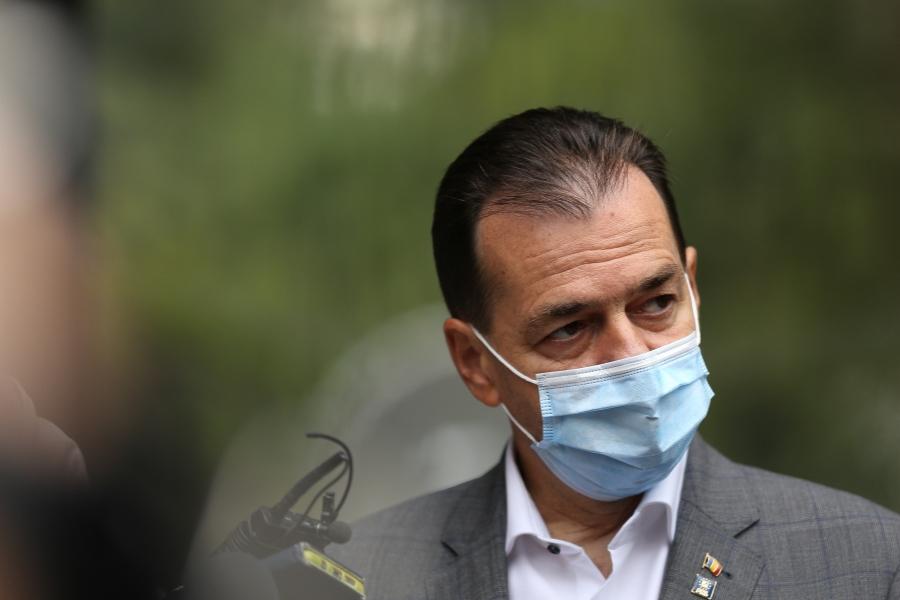 Ludovic Orban cu mască