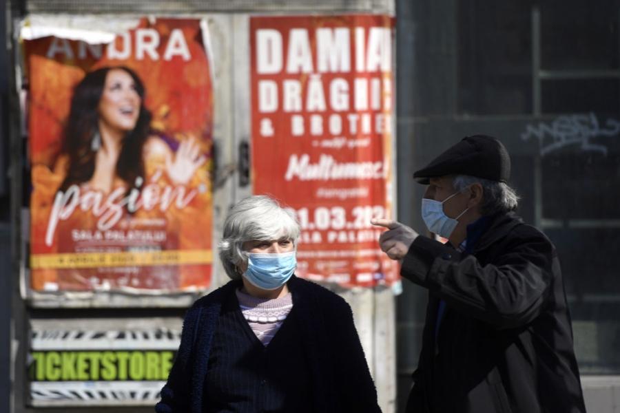 bucuresti - oameni pe strada - Foto Alex Nicodim/Anadolu Agency via Getty Images)