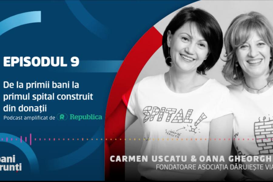 Oana Gheorghiu și Carmen Uscatu