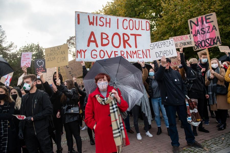 Protest avort Polonia