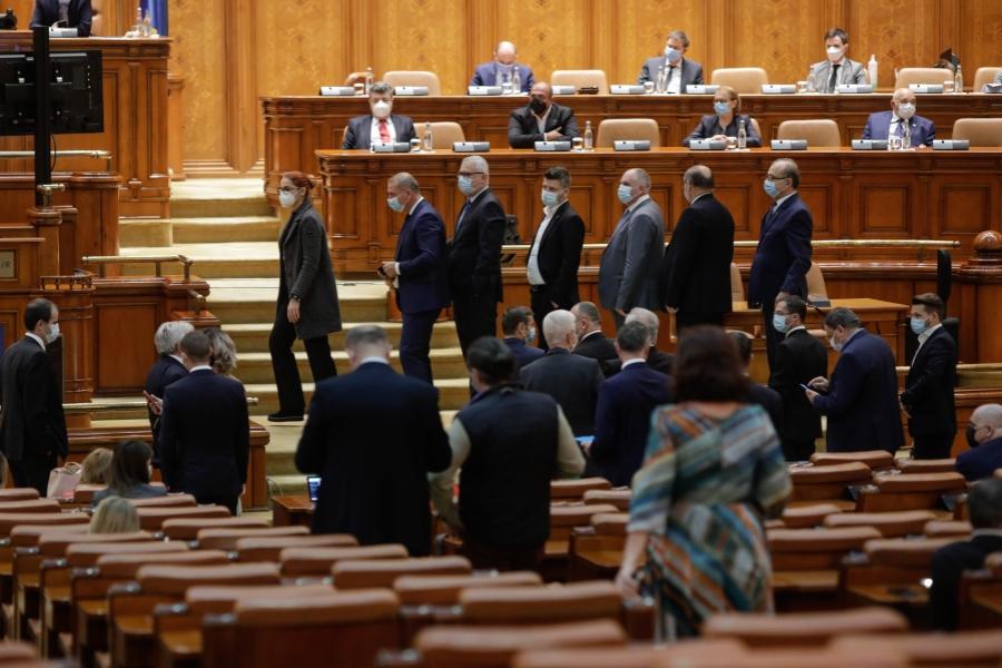 Parlament - vot - . Foto Inquam Photos / George Călin