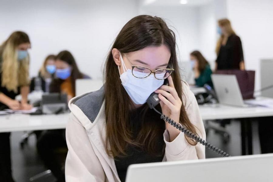 Call center Covid - București