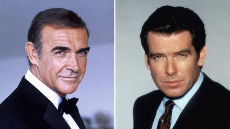 Sean Connery/ Pierce Brosnan