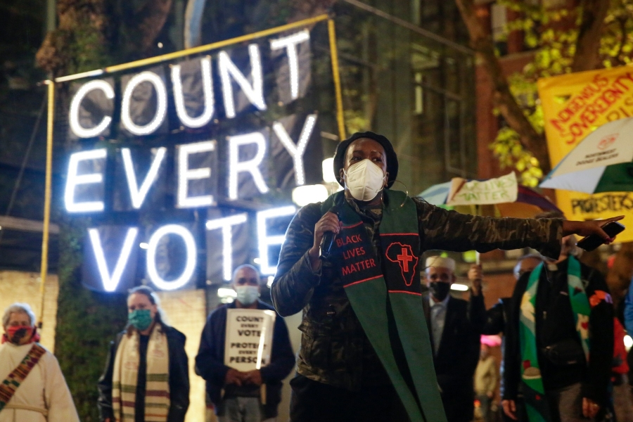 numarare voturi - Foto Jason Redmond / AFP / Profimedia