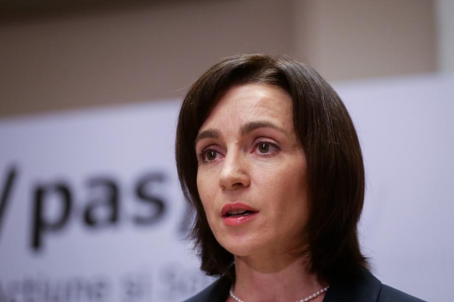Maia Sandu, alegeri prezidențiale