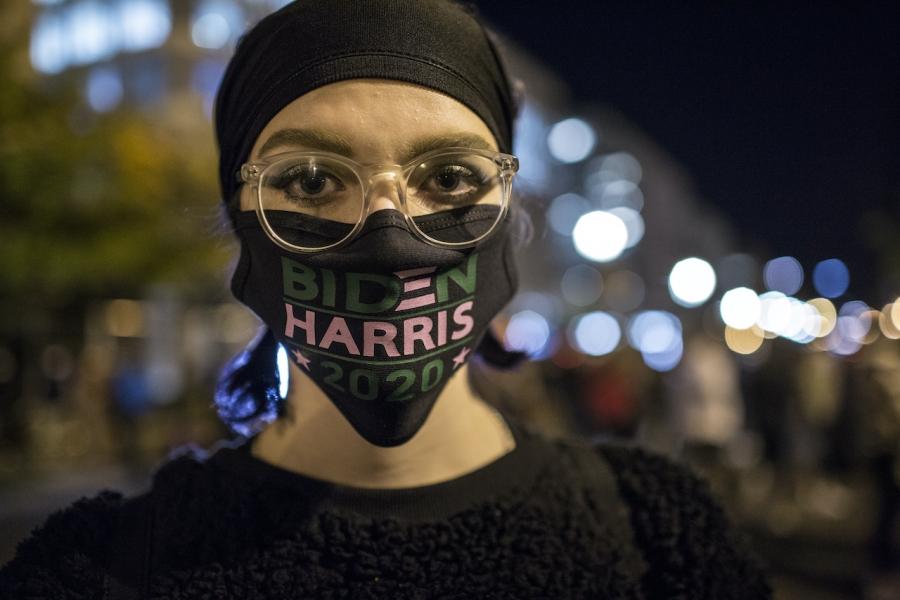 Mască Biden - Harris