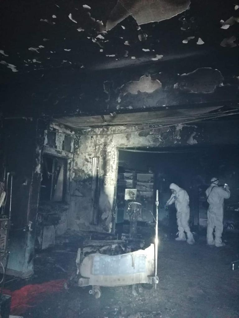 Incendiu ATI Spital Piatra Neamț - sursa Exploziv TV Neamț