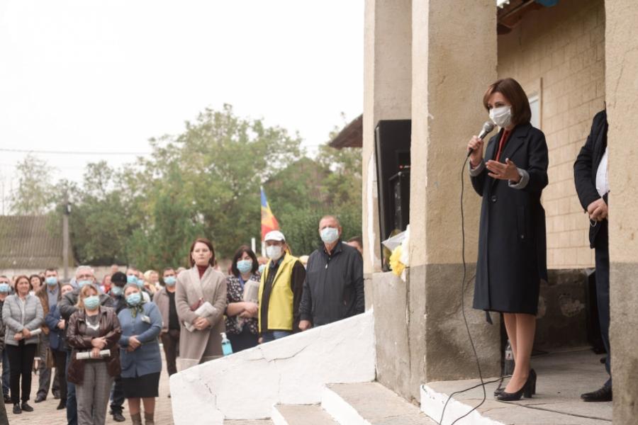 Maia Sandu președinte