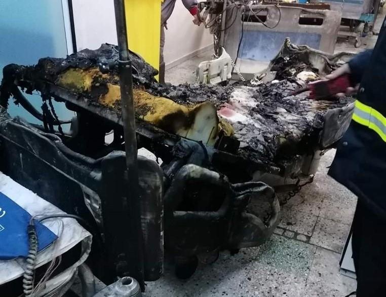 incendiu Spital Piatra Neamt - (Sursa: Exploziv TV Neamț)
